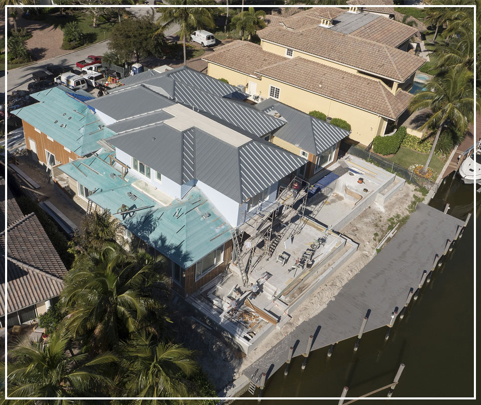 Luxury Custom Home In Progress | Borelli Construction of Naples