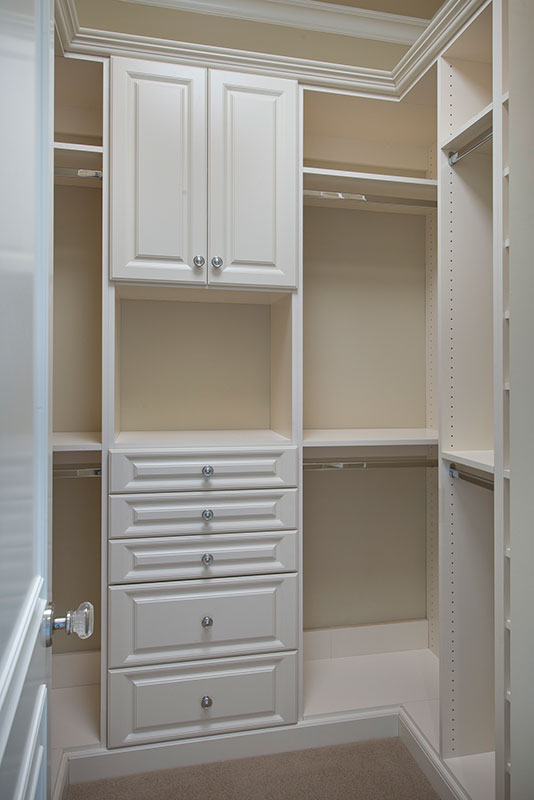Closet Built Ins At Custom Luxury Home In Naples, Florida | Borelli  Construction Of
