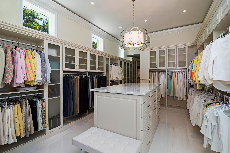 Gordon River Trail Master Closet At Custom Luxury Home In Naples, Florida |  Borelli Construction